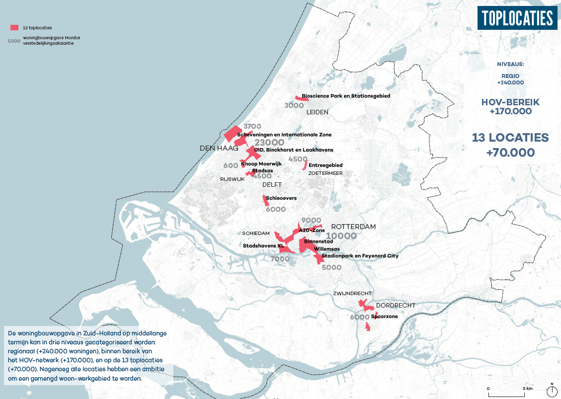 Decisio en Sumcity Advisory rekenen aan 240.000 extra woningen in Zuidelijke Randstad